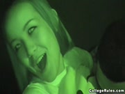 College Seniors Getting Freaky In Night Vision